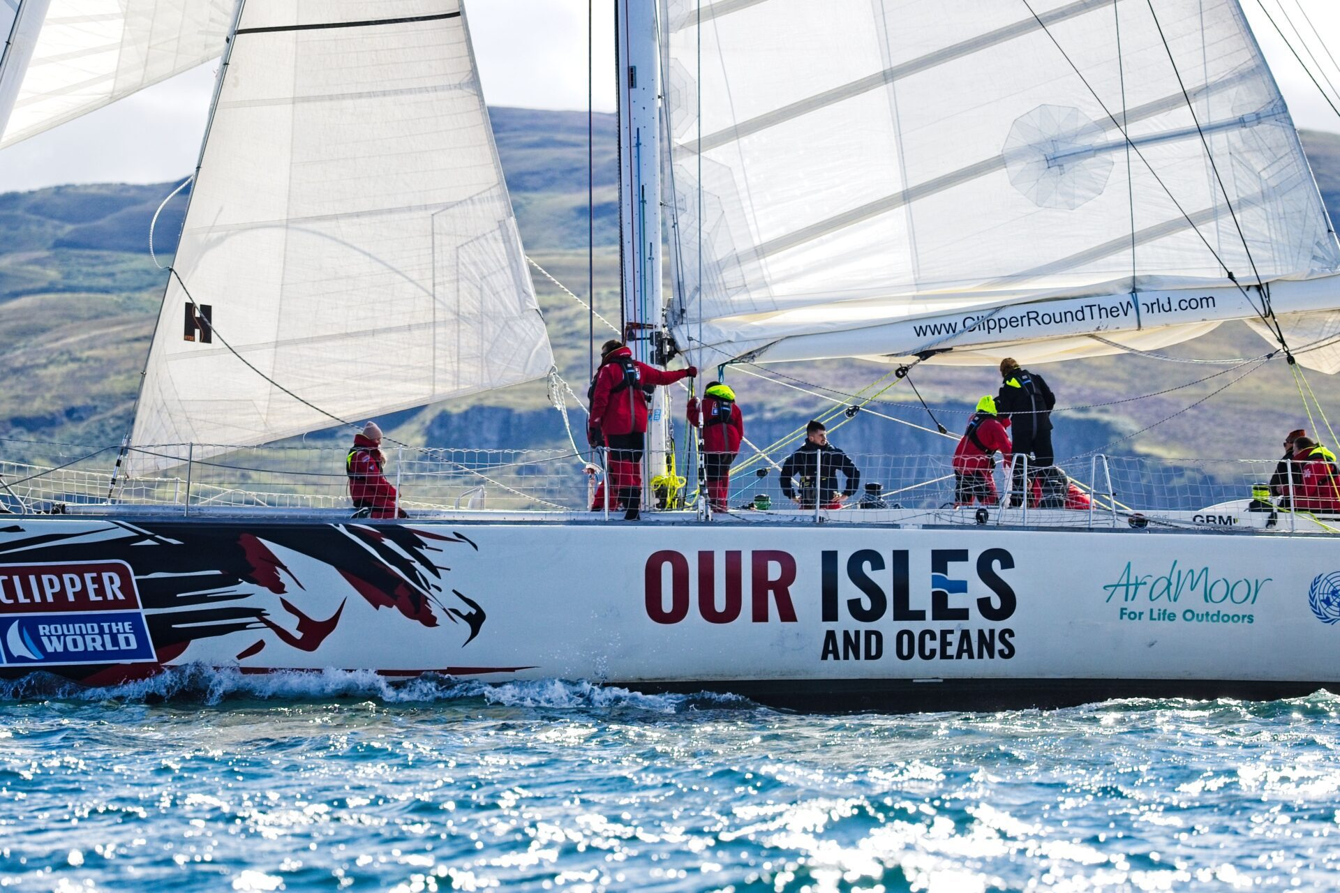 Our Isles and Oceans Clipper Race Below the Skye Line
